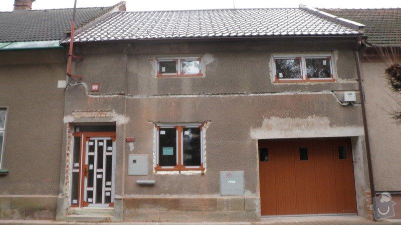 Zatepleni řadového domku + fasáda: 930