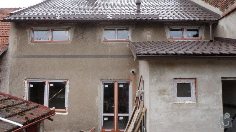 Zatepleni řadového domku + fasáda: 932