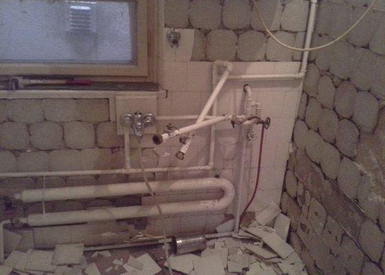 Rekonstrukce koupelny + výměna kotle