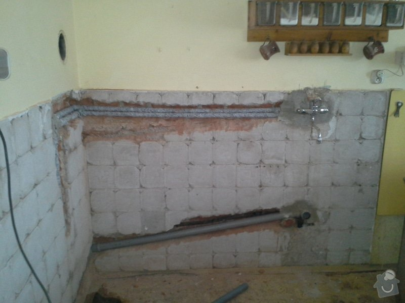 Rekonstrukce koupelny + výměna kotle: 20140605_170819