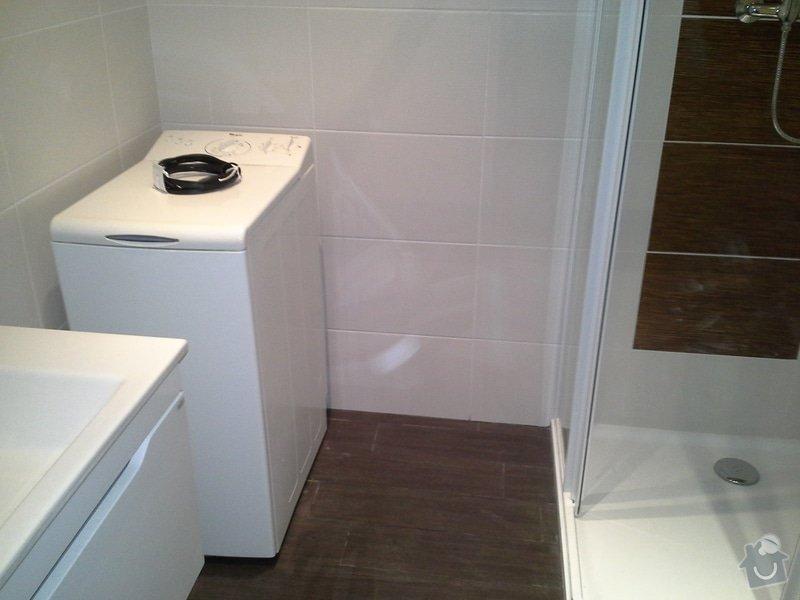 Rekonstrukce koupelny + výměna kotle: 20140807_105305