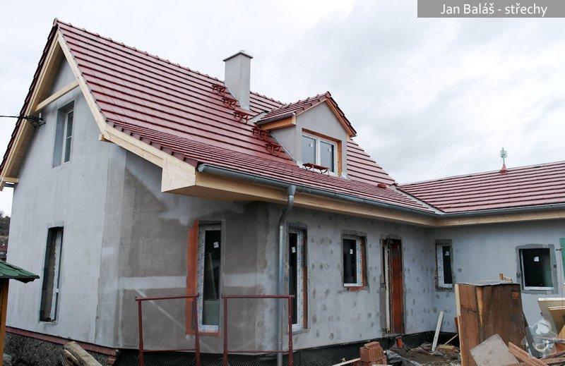 Střecha - rekonstrukce RD: balas1