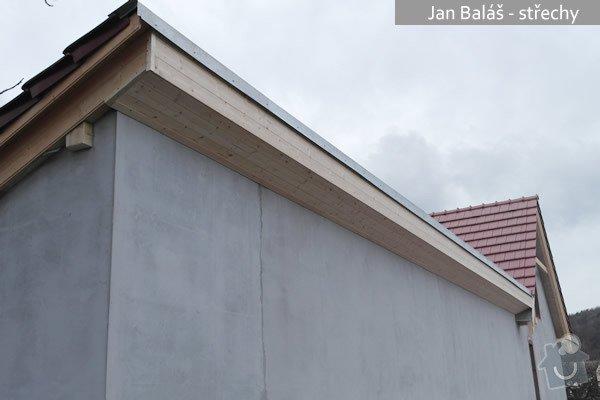 Střecha - rekonstrukce RD: balas3