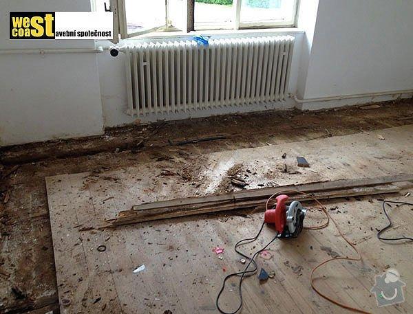Kompetní vyzdění příček v RD: podlaha-2