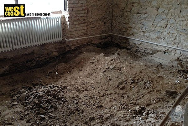 Kompetní vyzdění příček v RD: podlaha-4