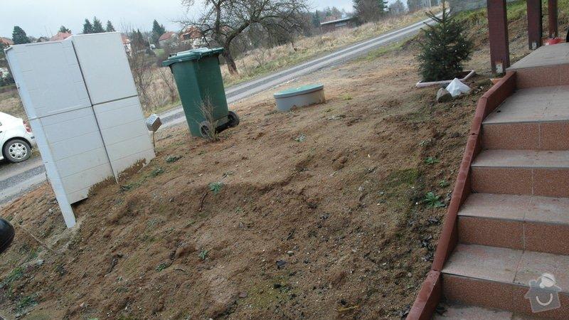 Realizace zahrady se svažitými okraji: Predzahradka