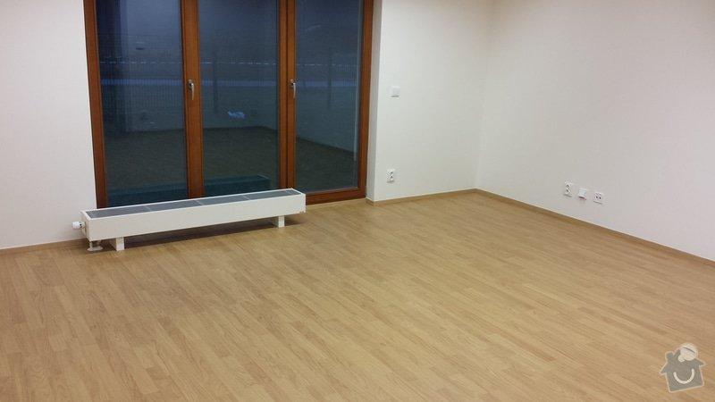 Výměna 1 plovoucí laminátové podlahy za jinou 25 m2: 20150118_162317