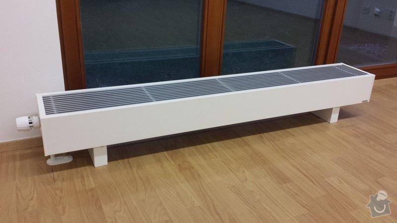 Výměna 1 plovoucí laminátové podlahy za jinou 25 m2: 20150118_162343
