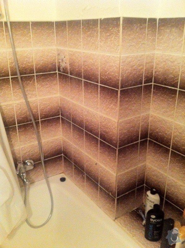 Rekonstrukce koupelny, Praha 5: Koupelna_5_