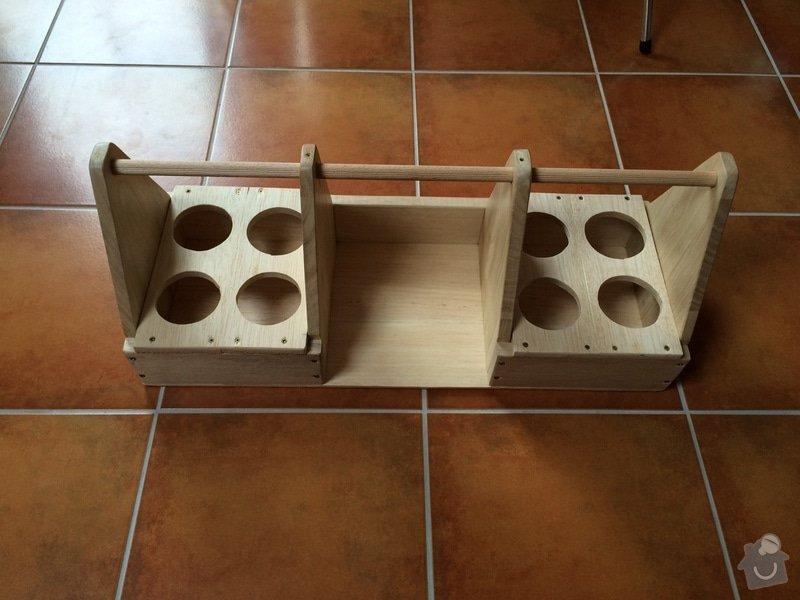 Výroba nosiče na roznos piva a občerstvení: IMG_1510