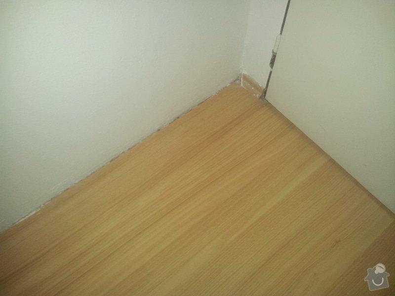 Olištování pokoje s lamin.podlahou : 20150119_114323