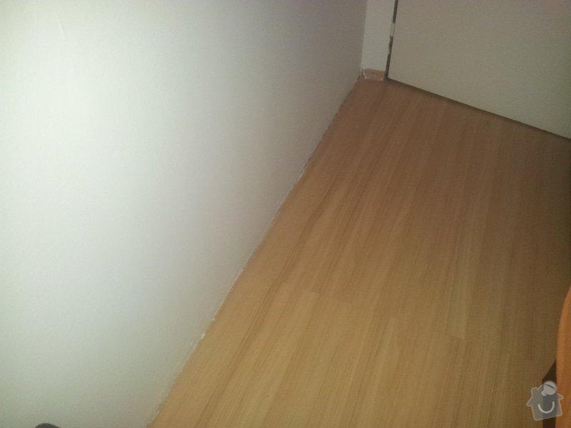 Olištování pokoje s lamin.podlahou : 20150119_114349