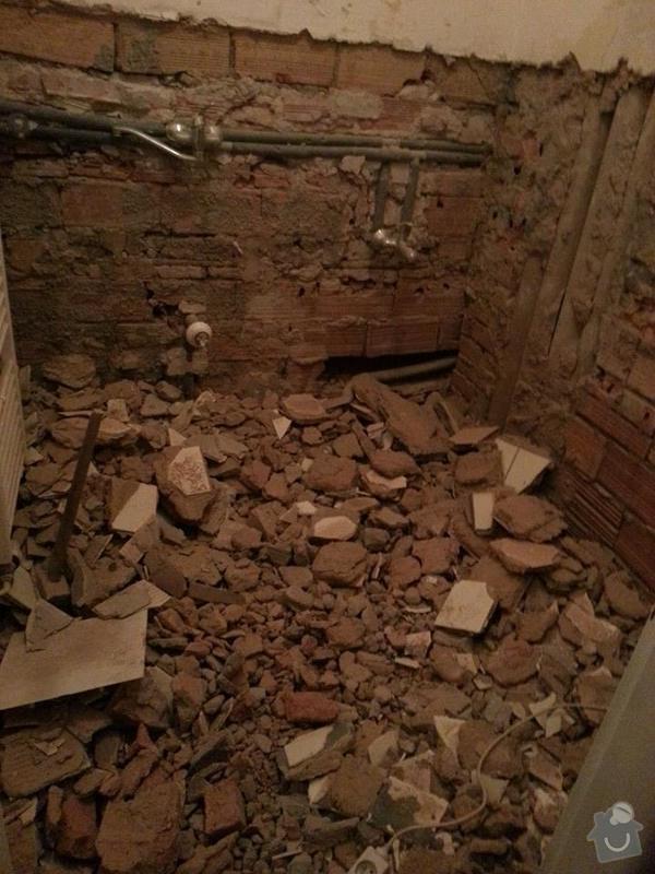 Instalatera na koupelnu - pul dne v Praze : koupelka