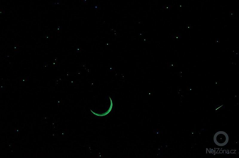 Noční obloha v dětském pokoji: DSC_0055
