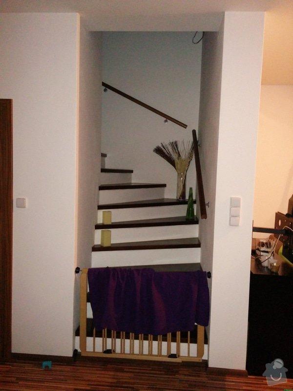 Celosklenene dvere: schody
