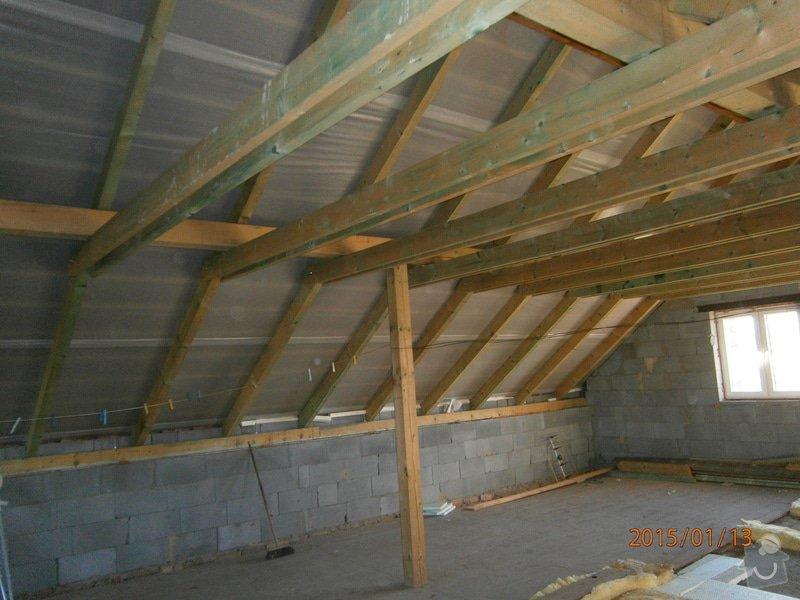 Foukaná izolace - střecha: P1130683