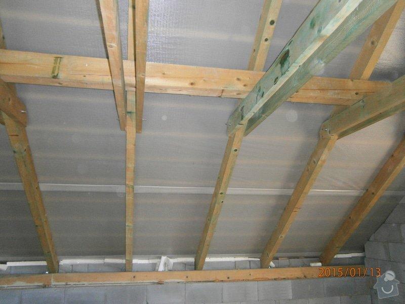 Foukaná izolace - střecha: P1130684