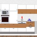Kuchynska linka celni pohled   trouba umyvadlo mycka lednicka