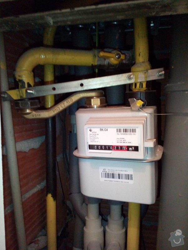 Výměna plynové trubky: P_20150120_191634