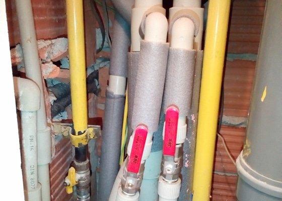 Výměna plynové trubky