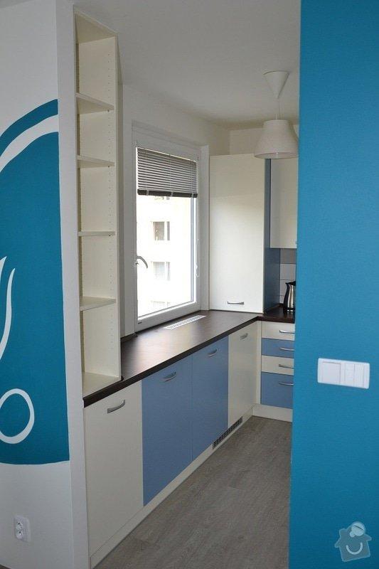 Podlaha, dveře, kuchyňská linka, vestvěná skříň: Darbujan_7