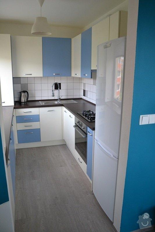 Podlaha, dveře, kuchyňská linka, vestvěná skříň: Darbujan_8