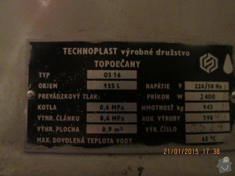Výměna eletrického boileru: IMG_0007