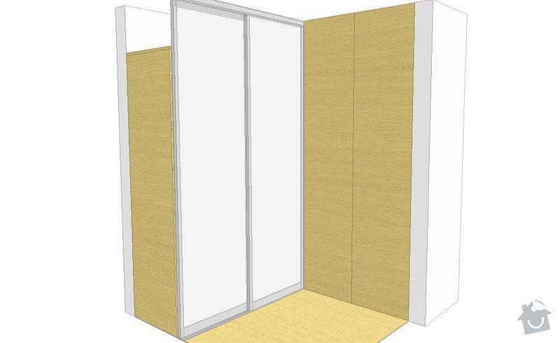 Vyroba a montaz vstavanej skrine: Predsin_-_dvere