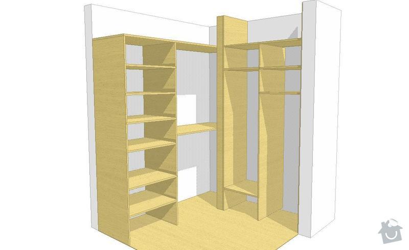 Vyroba a montaz vstavanej skrine: Predsin_1