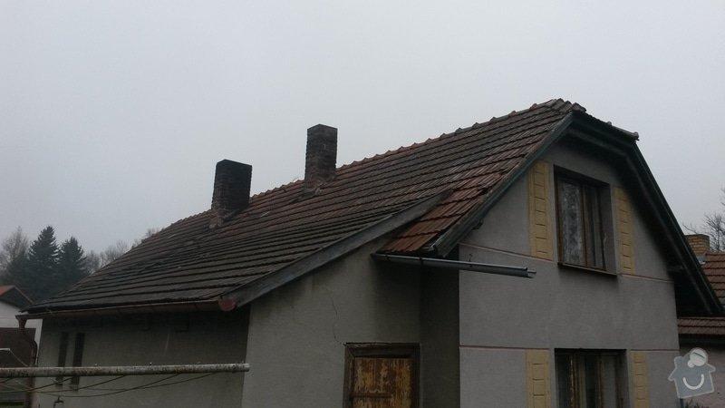 Rekonstrukce střechy: 20150121_110917