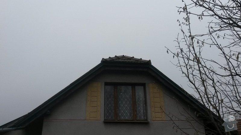 Rekonstrukce střechy: 20150121_111017