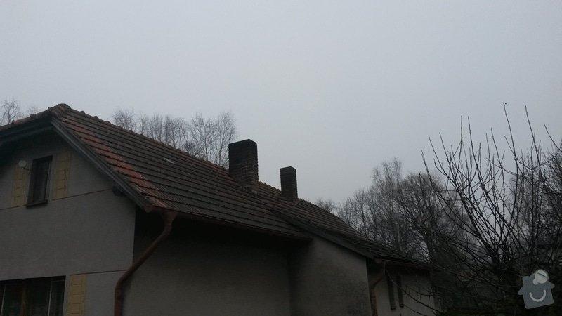 Rekonstrukce střechy: 20150121_111118