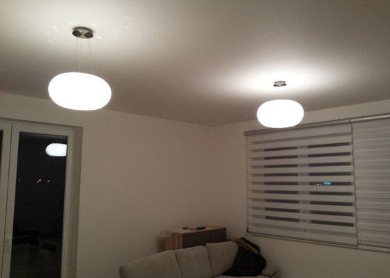 Montáž a zapojení stropního osvětlení v bytě