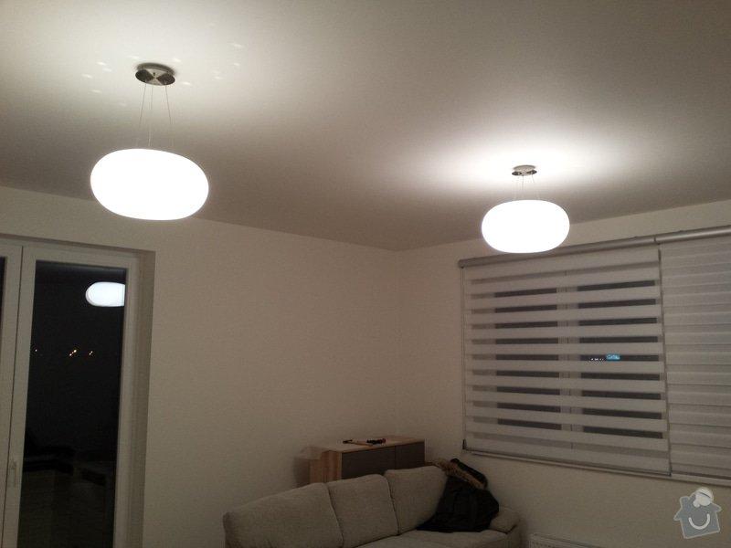 Montáž a zapojení stropního osvětlení v bytě: 20150121_183429