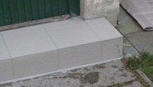 Obložení schodu