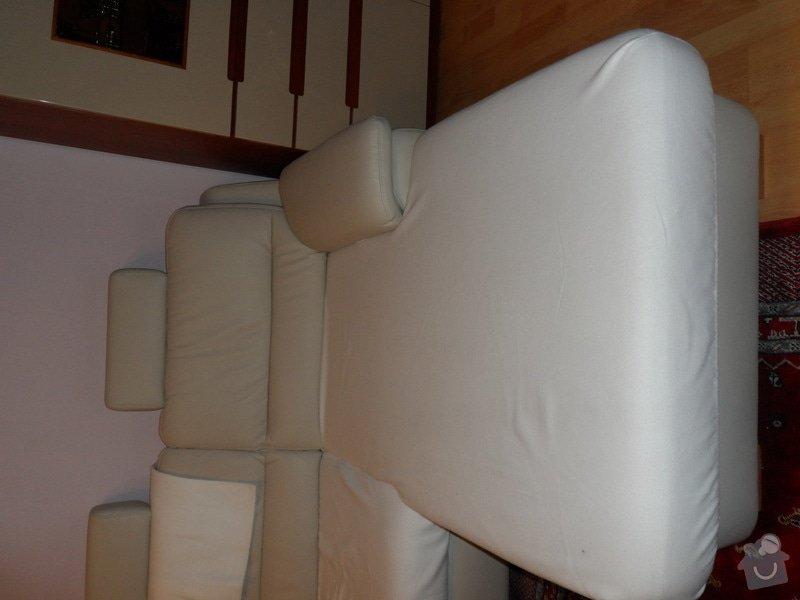Přečalounění sedačky: SAM_4060