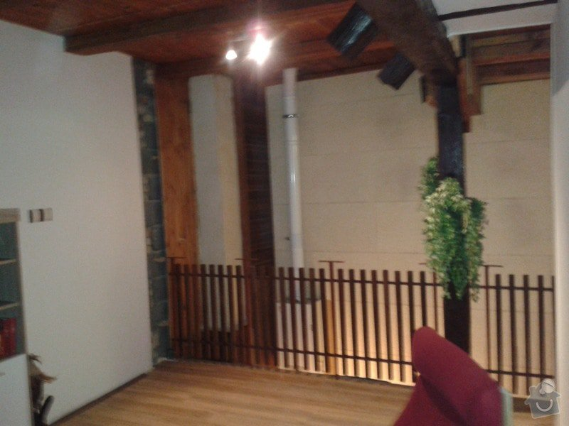 Rekonstrukce vnitřní zdi, rekonstrukce koupelny, nové WC: 20150122_185001