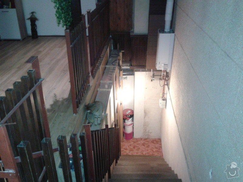 Rekonstrukce vnitřní zdi, rekonstrukce koupelny, nové WC: 20150122_185029