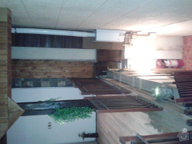 Rekonstrukce vnitřní zdi, rekonstrukce koupelny, nové WC: 20150122_185036