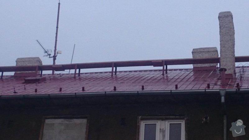 Rekonstrukce střechy,postavení lehkého plotu,postavení zdí z KB bloku,dlažba: DSC_0066
