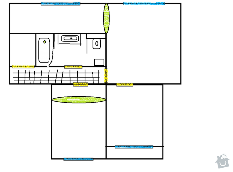 Kompletnu rekonstrukci 3+1, Trinec, Sosna 67m2, panel: zmeny