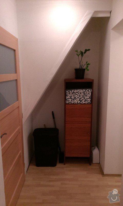 Výroba a montáž skříně pod schody + dětskou postýlku: IMAG0589