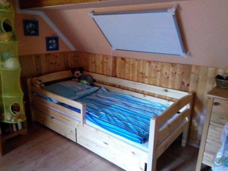 Dětská postel: postel