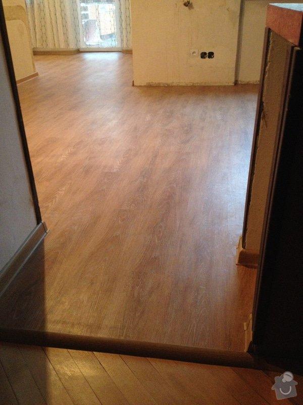 Pokládka vinylové podlahy systémem clic - 22 m2: 1