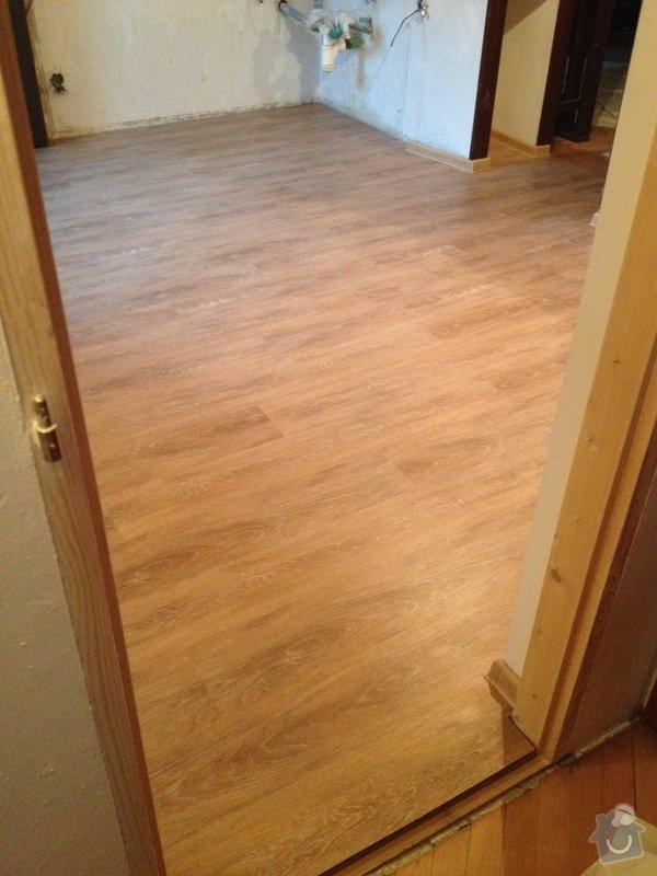 Pokládka vinylové podlahy systémem clic - 22 m2: 2