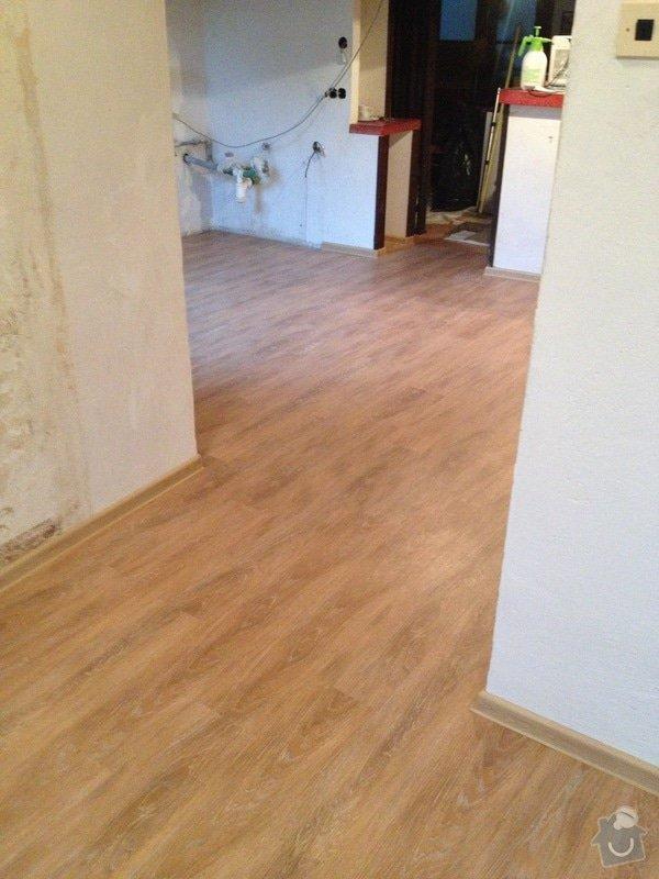 Pokládka vinylové podlahy systémem clic - 22 m2: 5