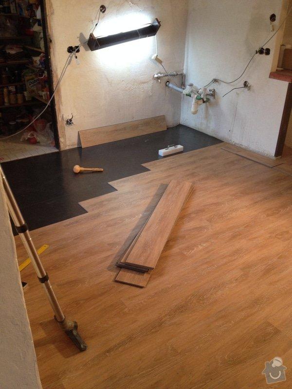 Pokládka vinylové podlahy systémem clic - 22 m2: 8