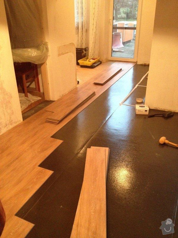 Pokládka vinylové podlahy systémem clic - 22 m2: 9