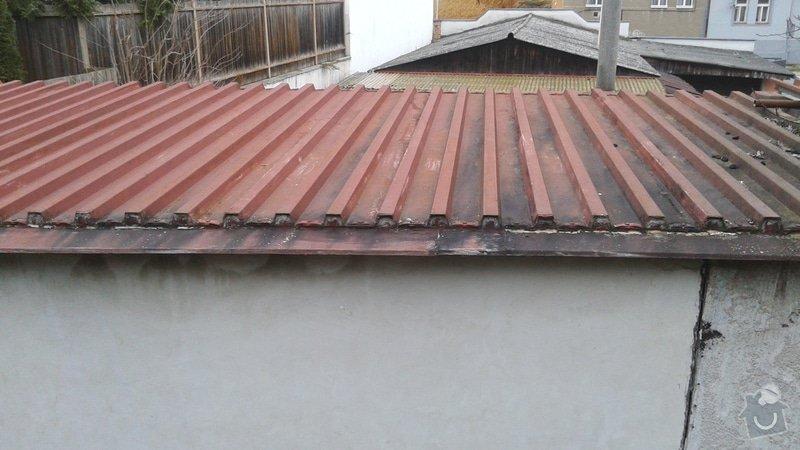 Oprava střechy: 20150121_152255