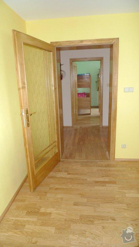 Pokládka dřevěné podlahy Barlinek Brno 120m2 / dub 3 lamela 5G zámek.: P1040625